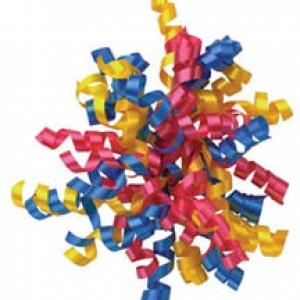 Ribbon DecoPics Large 4″ 24 CT