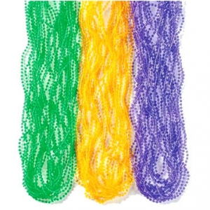Mardi Gras Beads Assorted Color 24″ 144 CT