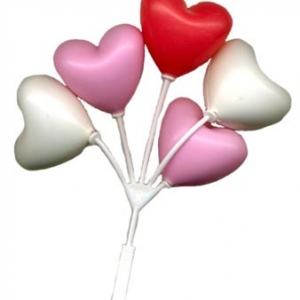Balloon Cluster Hearts 4 1/2″ 36 CT