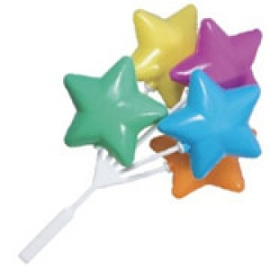 Balloon Cluster Star Bright 5″ 36 CT