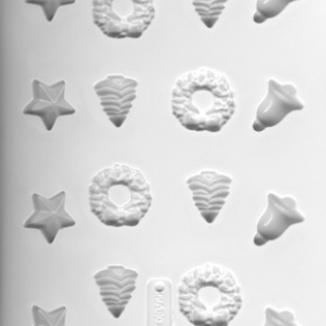 Holiday Candies Hard Candy Mold 16 CAV