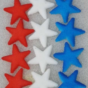 Stars Red, White & Blue Dec-Ons 7/8″ 216 CT