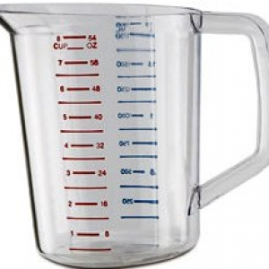 Measuring Cup Plastic 1 Cup