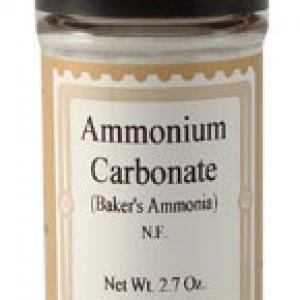 Baker's Ammonia 2.7 OZ Jar