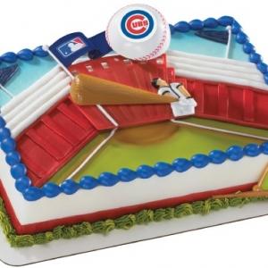 Chicago Cubs MLB DecoSet EA
