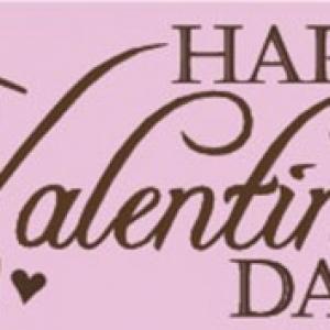 Valentine's Day Labels 500 CT