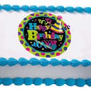 Happy Birthday Dazzle EI 12 CT