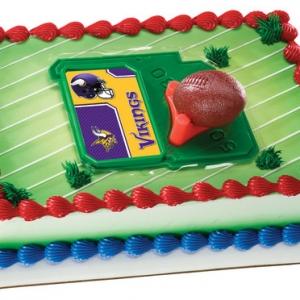 Minnesota Vikings NFL & Tee DecoSet EA