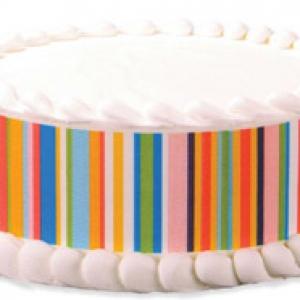 Happy Stripes Designer Prints 36 CT