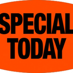 Special Today Labels 1000 CT