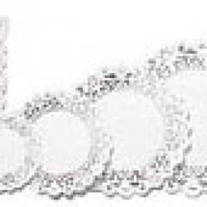 Doilies 10″ Round White 10 CT