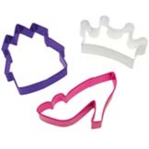 Princess Themed Cutter 3″ 3 PCS Set
