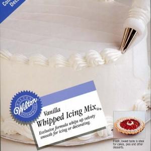 Vanilla Whipped Icing Mix 10 OZ