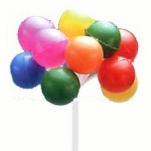 Balloon Cluster Bright 7″L 36 CT