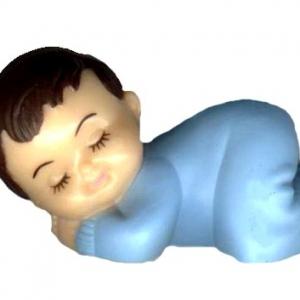 Babies Sleeping No Wings Blue 2 1/2″ 12 CT