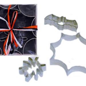 Spider,Web,Bat Cutter 3″-5.5″ 3 PCS Set