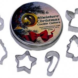 Christmas Mini Cutter 1 3/4″ 6 PCS Set