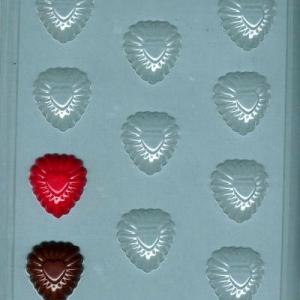 Fancy Hearts Bite Size Mold 11 CAV