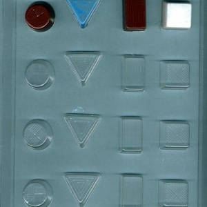 Shapes Assortment Mold 16 CAV