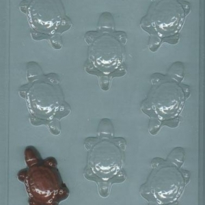 Turtle Candy Mold 8 CAV