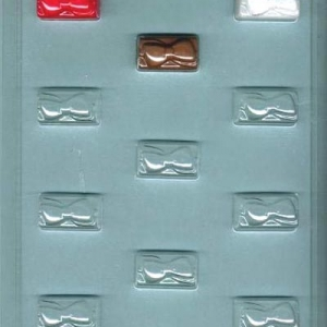 Package w/Bow Candy Mold 11 CAV
