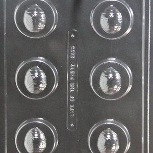 Egg Cookie Candy Mold 6 CAV