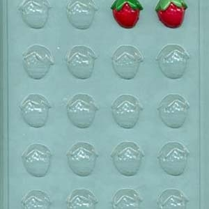 Strawberry Bite Size Mold 20 CAV