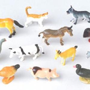 Animals Farm Assorted 2 1/2″ 12 CT