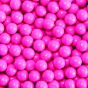 Hot Pink Sixlets 2 LB *