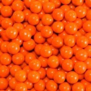 Orange Sixlets 2 LB