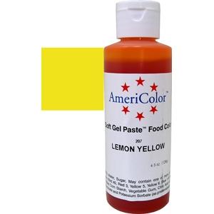 Lemon Yellow 4 1/2 OZ Soft Gel Paste