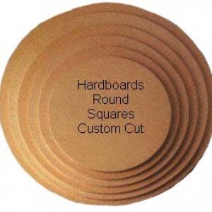 8″ x 1/4″ ROUND Hardboard