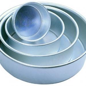 Round Pan 8″ x 3″ 16 gauge