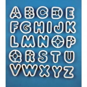 Alphabet Cutters 2″ Set
