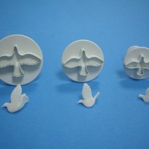 Dove Plunger 1 1/4″-2″ 3 PCS Set