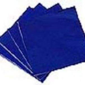 Foil Wrappers Dk Blue 3″x 3″ 500 CT