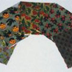 Foil Wraps Holly & Bows 3″x3″ 500 CT