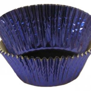 Light Blue Foil Cups 2″B x 1 1/4″W 500 CT