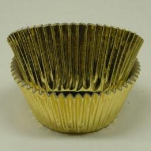 Jumbo Gold Foil Cup 2 1/2″B 1 7/8″W 500 CT