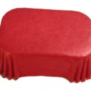 Petite Loaf Liners Red (60x) 500 CT