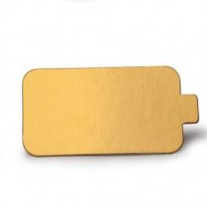Mono Portion Rectangle 2 1/4″ x 3 7/8″ w/tab Gold 500 CT