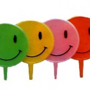 Smile Neon Picks 2″ 144 CT