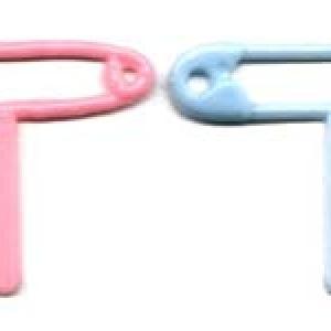 Baby Safety Pins Pick P&B 3″ 144 CT