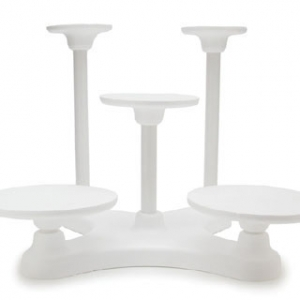 5 Tier Single Use Cake Stand
