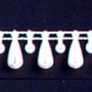 Tear Drop String of Pearl White 30 feet