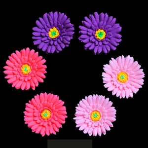Aster Flowers Assorted 1 3/4″ 36 CT