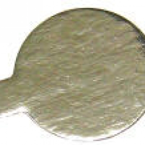 Mono Portion Round tab 4″ Silver 500 CT