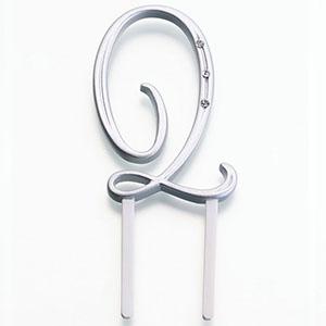 "Monogram Letter ""Q"" 2 1/2″"