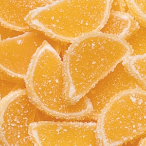 Orange Fruit Slices Regular 5 LB