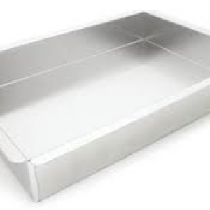 16″x24″x2″ Rectangle Pan with Square Corners